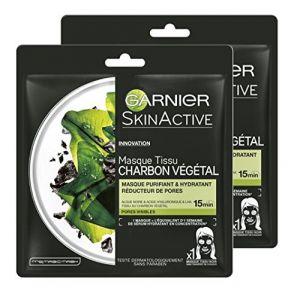 Garnier SkinActive Masque tissu charbon végétal