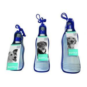 M pets Bouteille d'eau - Pour chien - 300ml - Bleu