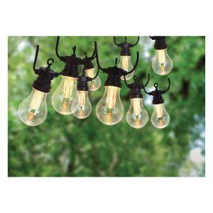 Progarden Guirlande lumineuse de jardin 20 ampoules 3,2 V