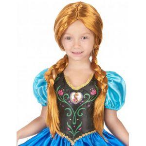 Rubie's Perruque Anna La Reine des Neiges pour fille