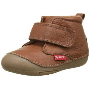 Kickers Sabio, Bottillons mixte bébé, Marron (Camel), 18 EU (surf4shoes (AGB,Widerrufsbelehrung), neuf)