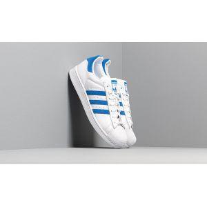 Adidas Superstar chaussures blanc bleu T. 40 2/3
