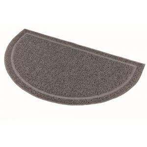 Trixie Accessoires pour litière pour Chats Mat PVC Semi Circular