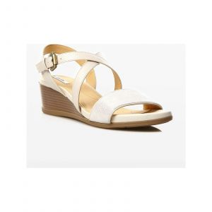 Geox Sandales D828QA5477 Sandales Femme White / Silver