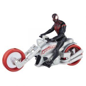 Hasbro Figurine Spiderman Kid Arachnid avec Arachnochopper 15 cm