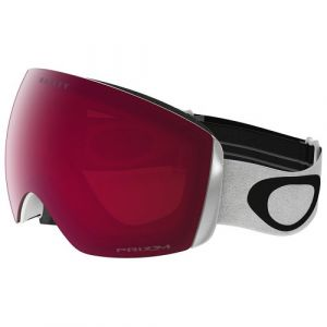 Oakley Flight Deck XM Masque de Ski/Snowboard Matte White, Écran Prizm Rose