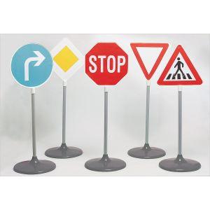 Klein Sécurité Routière: Set de panneaux routiers