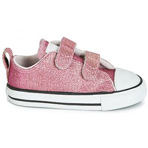 Converse Chaussures enfant CHUCK TAYLOR ALL STAR 2V SPACE STAR OX rose - Taille 22,23,24,25,26