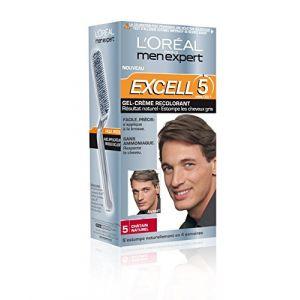 L'Oréal Men Expert Excell 5 - Gel-crème recolorant châtain naturel