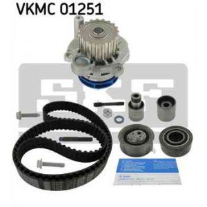 SKF Kit de distribution avec pompe à eau VKMC01251