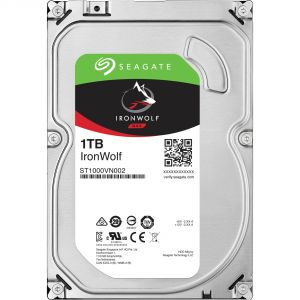 """Seagate ST1000VN002 - Disque dur NAS IronWolf 1 To 3.5"""" SATA III 7200rpm"""