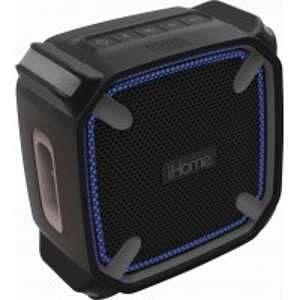 iHome Enceinte Bluetooth IBT371 Etanche Lumineuse