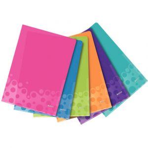 Leitz Pochette transparente WOW 4050 DIN A4 polypropylène rose, bleu, vert, lilas, turquoise, orange 4050-00-99 6 pc(s)