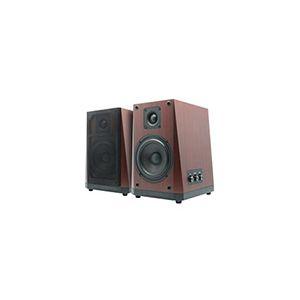 Konix Enceintes amplifiées RCA Bluetooth 2.0 en bois