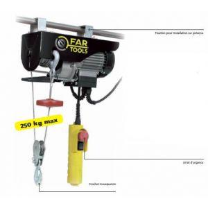Far Tools EP500 - Palan électrique 500W 250 kgs