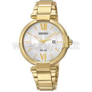 Seiko SUT158P1 - Montre pour femme avec bracelet en acier