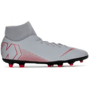 Nike Chaussures de foot Mercurial Superfly VI Club MG Gris - Taille 42,42 1/2
