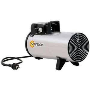 Sovelor Chauffage air pulsé électrique portable inox 230V~1 50 Hz 3 kW D3I
