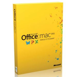 Office Mac Famille et Etudiant 2010 [Mac OS]