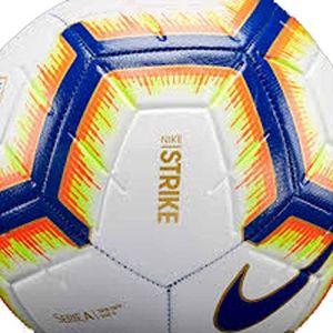 new product 451e1 dd1a3 Nike Ballon de football Serie A Strike - Blanc - Taille 5 - Unisex