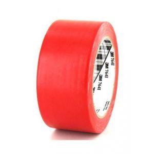Ruban adhésif vinyle 3M 764 rouge 50mm x 5