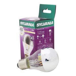 Sylvania Toledo 0027157 Doré Rétro Lampe LED, verre, Home, E27, 4 Watts