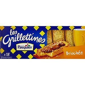 Pasquier Les Grillettines - Tartines grillées briochées