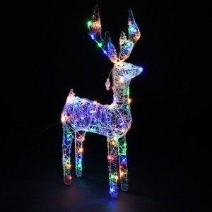 Renne lumineux Fringant Multicouleur 120 LED