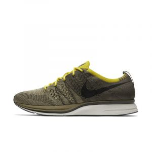Nike Chaussure mixte Flyknit Trainer - Kaki - Taille 47.5 - Unisex