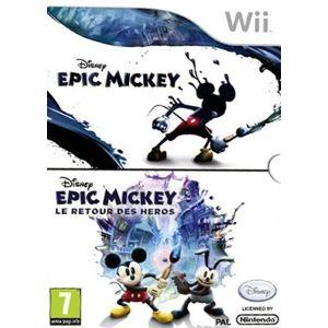 Disney Epic Mickey + Epic Mickey : Le Retour des Héros [Wii]