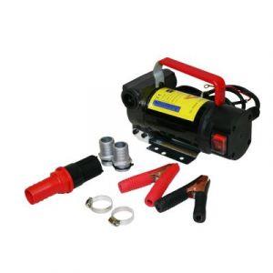 Varan Motors NEBP-01 Pompe pour vidange de diesel et huile par aspiration 12volts 175W - Noir Motors