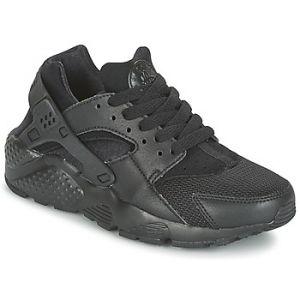 Nike Huarache Run (GS), Baskets Garçon, Noir (Black/Black-Black), 36.5 EU