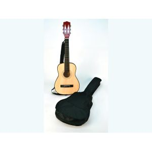 Bontempi Guitare pour enfant en bois 75 cm + housse
