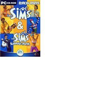 Les Sims + Les Sims : Surprise Party - Le jeu + l'extension [PC]