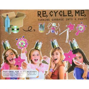 Neotilus Kit créatif ReCycleMe Partybox pour 4 princesses