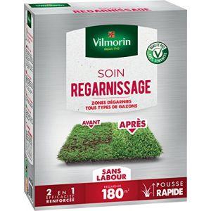 Vilmorin Semences pour soins et regarnissage universel de gazon - 2 en 1 - 3 kg