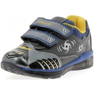 Geox B Todo C, Chaussures Marche bébé garçon, Grau (DK Grey/ROYALC0071), 21 EU
