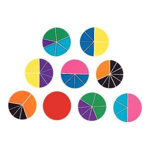 Learning Resources Cercle fraction - Rainbow Fraction Circles