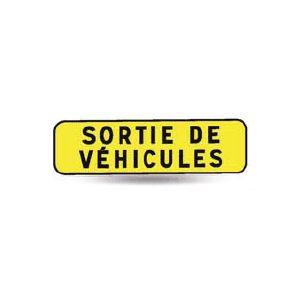 Taliaplast 525318 - Panonceau indication sortie de véhicules km t1 700x200mm