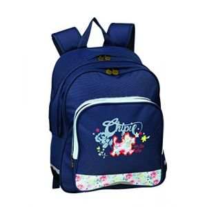 Chipie Liberty Dark Cartable 41 cm Bleu Marine 400078143