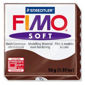 Staedtler Pâte à modeler Fimo Soft chocolat