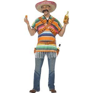 Déguisement de serveur mexicain