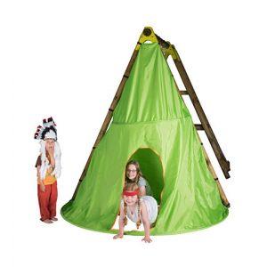 Trigano Tente de jeu Tipi pour balançoire en bois 2,3 m J-JOU058