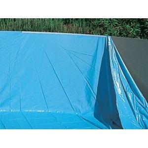 Liner 50/100 piscine hors sol Ovale 5.50x3.70m H 1.20/1.32m overlap