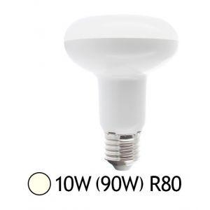 Vision-El Ampoule Led 10W (90W) E27 Spot R80 Blanc jour 4000°K
