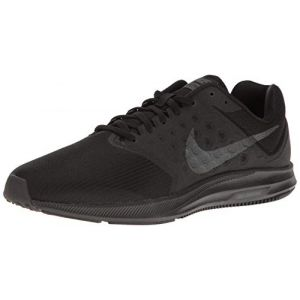 Nike Downshifter 7, Chaussures de Course Homme, Red 648, Noir (Black / Metallic Hematite / Anthracite), 44 EU