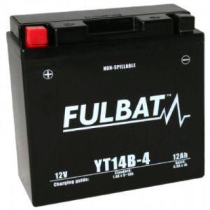 Fulbat Batterie SLA YT14B-4 12V 12Ah 210A Longueur: 150 x Largeur: 69 x Hauteur: 145