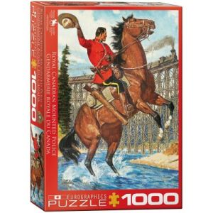 Eurographics Puzzle Royal Canadian Mounted Police cavalier 1000 pièces