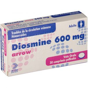 Arrow Diosmine 600 mg - 30 Comprimés