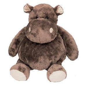 Histoire d'ours Peluche Hippopotame 25 cm